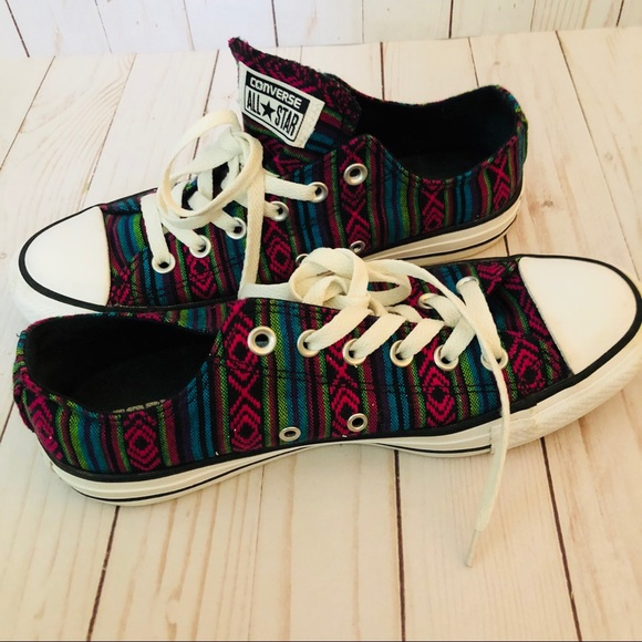 2a3f612db18b Converse Shoes - Converse Aztec Print All Star Sneakers